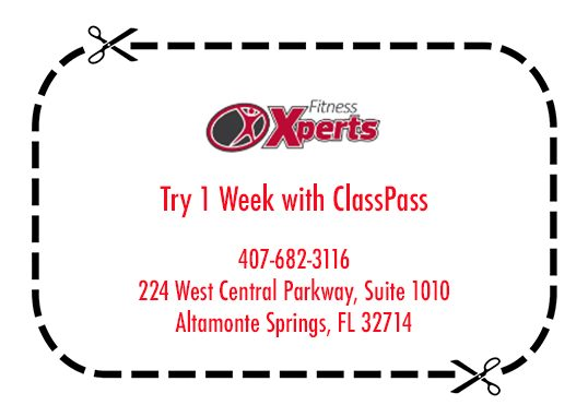 Try one week with class pass